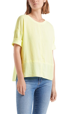 blouse-style-top-in-mixed-materials